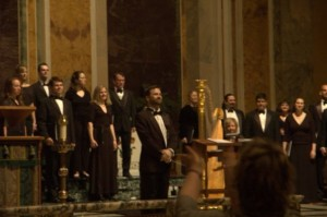 the premiere of the Requiem at St. Matthew's Cathedral, May 2008